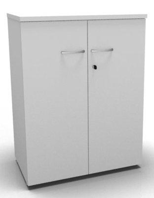 CO1 Double Door Cupboard 1040 H White