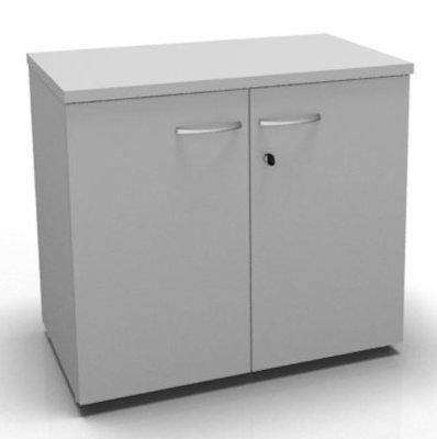 CO1 Double Door Cupboard 720 H Grey