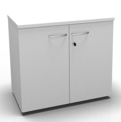 CO1 Double Door Cupboard 720 H White