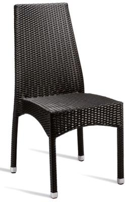 Prema Outdoor Weave Chair With Extra High Back
