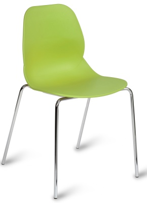 Macnkie Chair With Four Legs And Green Shall