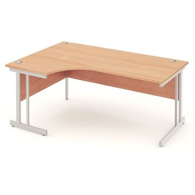 Revolution Desk Left Hand With A Beech Top