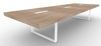4200mm Boardroom Table Metal Frame