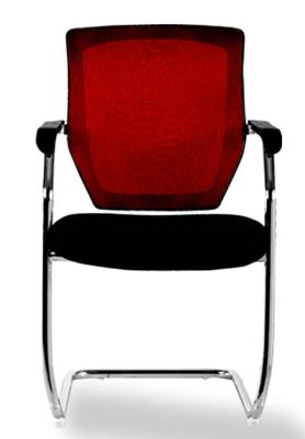 Reygatta Cantilver Mesh Back Chair Front View