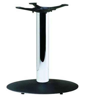 Olympic B1 Black Base & Chrome Coffee Height Column