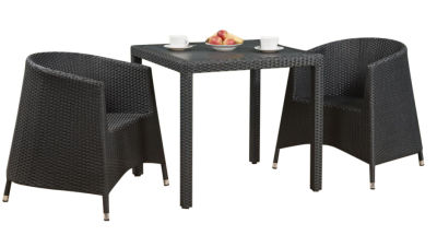 Susie Tub Chair Weave Dining Set