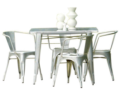 Tolix Outdoor Dining Set 2