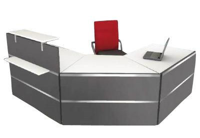 Atlanta Reception Desk Composition 6