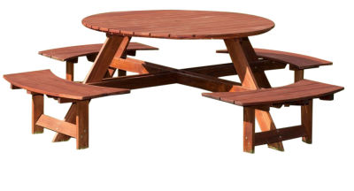 Bickleigh 8 Seater Outdoor Picnic Table