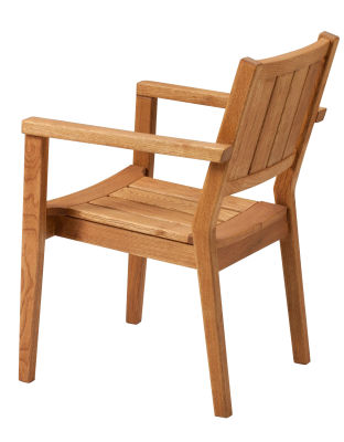 Dunster Outside Stackable Wooden Armchair
