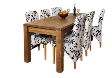 Hatfield Rough Sawn Extendable Dining Table
