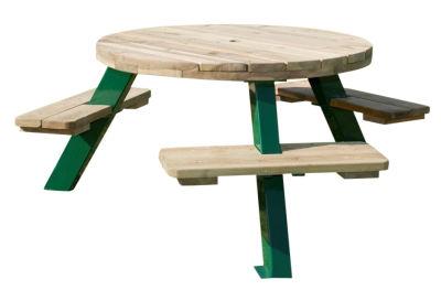 Lynton 6 Seater Outdoor Picnic Table