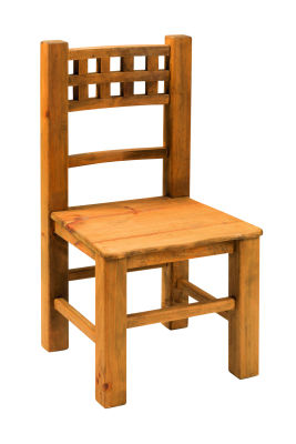 Mexican Wooden Sidechair - Rene