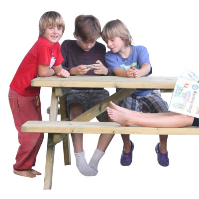 Quantock Extra Heavy Duty A Frame Picnic Table
