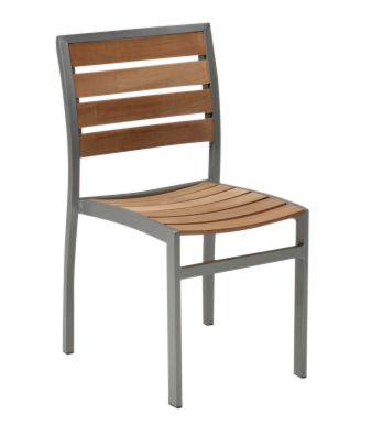 Vesu Outdoor Teak Side Chair