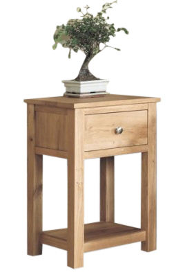 Warwick Solid Oak Lamp Table