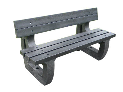 Westpoint Chunky Outdoor Benches - Moulded Ends