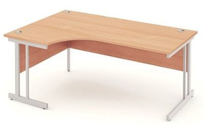 Next Day Left Hand Corner Evolution Desks In Beech