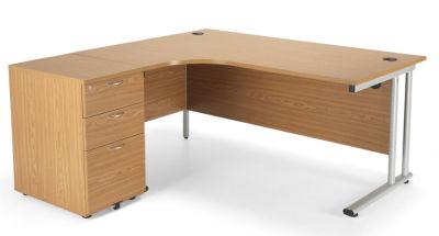 Flite Left Hand Corner Desk Bundle Deal