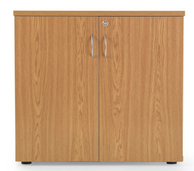 Flite Low Wooden Cupboard