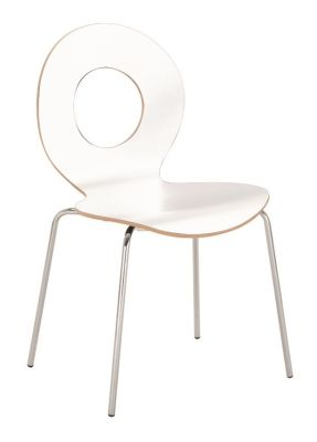 Boderto Chair With White Laminate