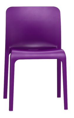 Pop Chair In Lilcac Front