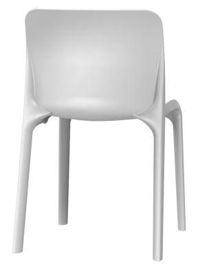 Pop Chair In Signal Grey Rear View