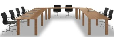 Stream U Shaped Conference Table Arrangement