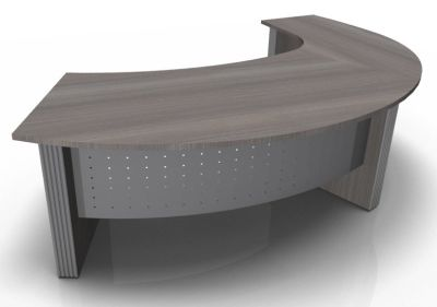 Direction Style Curved Desk And Curved Return Desk CD