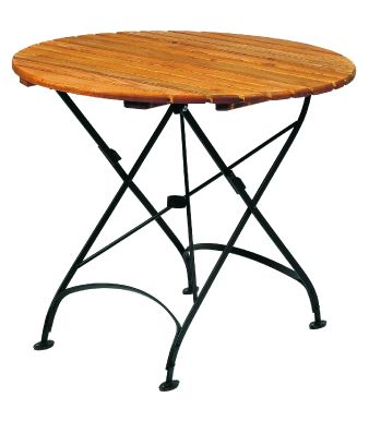 Terrace Folding Table Round